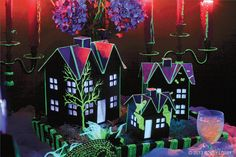 Spook up your Halloween decor with glow-in-the-dark paints! Eerie ideas inside.