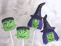 Halloween Marshmallow Pops Tutorial