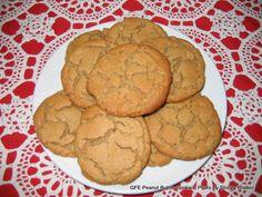 Gluten-Free Dairy-Free Flourless Peanut Butter Cookies