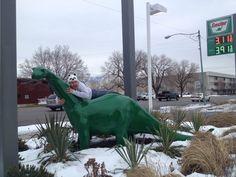 Riding Dinosaurs with Mormans. Read this hilarious blog! #adventures #adventuretime