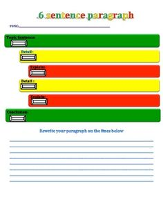 Step up to Writing- How to write an essay using colors