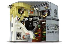 geek, stuff, mcescher, lego star wars, starwar, stars, legos, mc escher, diorama