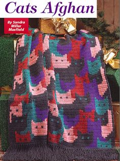 Cat's Afghan crochet pattern