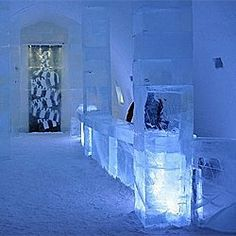 Have you stayed in a hotel that is made of ice and snow? They are the most adventurous and romantic hotels you have ever seen. When you see these... ice hotel, snow, romant hotel, hotels
