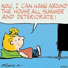 #Sally #Summer #TV #Peanuts