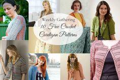 10 Free Cardigan Crochet Patterns