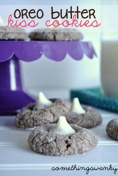 Oreo Butter Kiss Cookies - Something Swanky