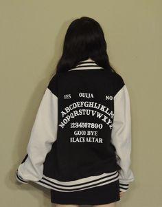 Ouija board varsity jacket