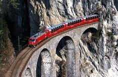 Swiss train bridge...