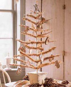 Tabletop Christmas Tree #natural #unique #alternative