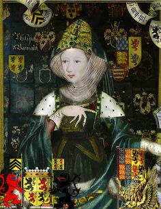 PHILIPPA OF HAINAULT        QUEEN OF ENGLAND by the lost gallery, via Flickr