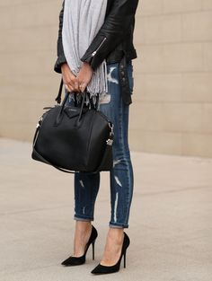 Distressed denim, le