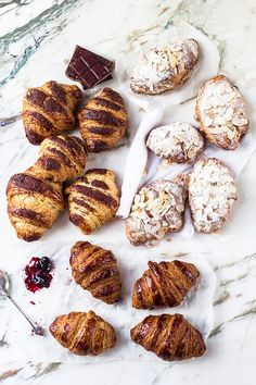mbakes: How To Make Chocolate, Plain & Almond Croissants {Step By Step}