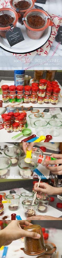 How to Make Homemade Taco Seasoning thelittlekitchen.net