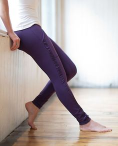 We designed these pants with plenty of pockets (two at the hip and one in the waistband) to hold all of our yoga essentials | Practice Daily Pant