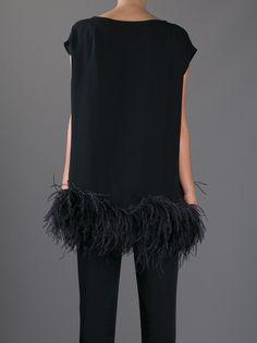 Feathered tunic