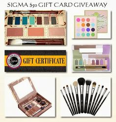 $50 Sigma Make-Up Giveaway-WW | The World of ContestPatti