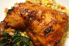 Slap Ya Mama Spicy Glazed Chicken