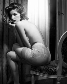 Morning Beauty   Laetitia Casta by Vincent Peters   Fashion Gone Rogue: The Latest in Editorials and Campaigns