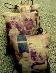 vintage christmas, vintag christma, christma idea, photo ornaments, christma photo, christmas photos, christmas ideas