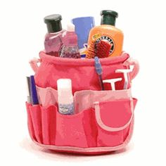 Dorm Stuff Bucket Bathroom Tote is the must have girls dorm room essential product most popular college dorm supply item