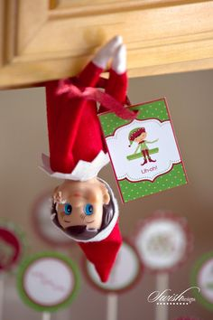 Holiday Elf Printable Package from Swish Designs