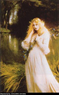 Odilon Redon, Ophelia, 1900-05