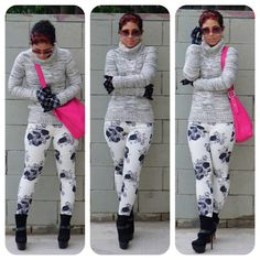mimi g. - love the floral jeans!