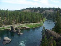 Setting for Detox Project:  Bowl and Pitcher - Riverside State Park, Spokane WA