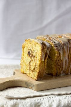 Pull Apart Cinnamon Sugar Pumpkin Bread.