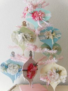 These ornaments would be darling gift toppers!!