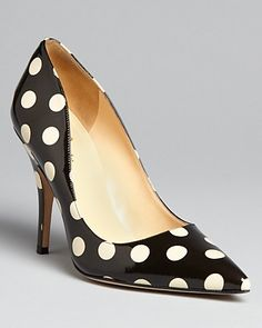 kate spade new york Pointed Toe Pumps - Licorice - Pumps - Shoes - Shoes - Bloomingdale's