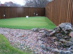 Backyard Putting Greens on Pinterest  Landscaping, Golf and Landscape ...