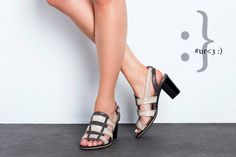 Heel shoes. Meryl design. Summer shoes Coffee and by ImeldaShoes, $200.00