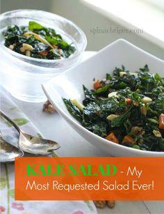 Kale & Apple Salad w