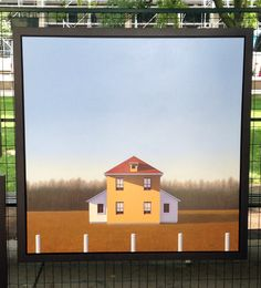 #painting by John Ovcacik at #Toronto Outdoor #Art Exhibit via http://lifeovereasy.com/