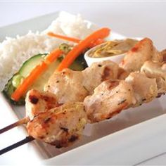 """Easy Chicken Satay   """"Easy-to-follow recipe, even for someone as inept as I am in the kitchen. Yum! """""""
