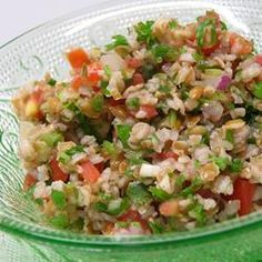 """Cilantro Tabouli 