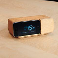 beechwood alarm clock (iphone dock)