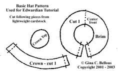 ... Tutorial Dollhouse miniature, Doll house miniature hat tutorial. More