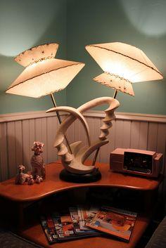 Vintage lamp love