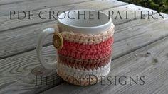 Crochet Pattern PDFRocky Ridge Mug Cozy Sell by jilliantdesigns, $3.25