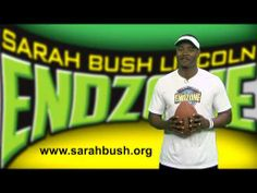 Kids! Follow along this summer as former NFL pro, Ray McElroy, brings you a new nutrition tip and exercise video each week! www.sarahbush.org/endzone kid