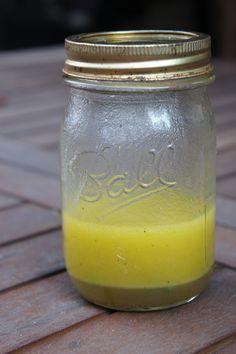 Honey Vinegar Salad Dressing (sub rice wine vinegar?)
