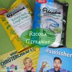 Enter to WIN a Ricola Soothing Relief Kit and $30 Visa Gift Card #swissherbs #ad