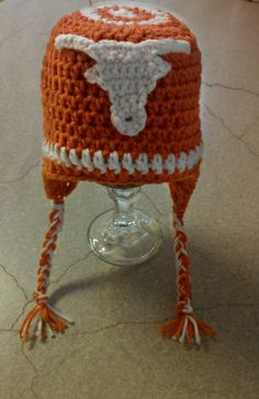 Arkansas Razorback Hog hat beanie. - Shorty Crochet