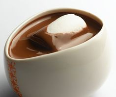 Max Brenner hot chocolate... best cup of cocoa EVER!!! Tastes like melted candy bars... mmmm