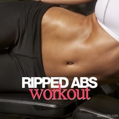 Ripped Abs Workout. Must try.  #absworkout