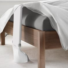 This is a bed fan. It keeps your mattress and blankets cool without blowing air all over your face. This sounds kind of amazing.