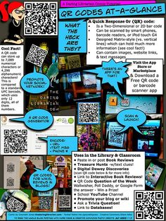 QR codes: What they are and how to use them in the classroom.